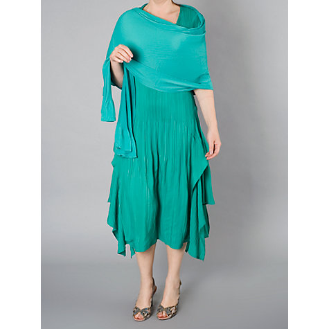 Buy Chesca Double Layer Pleated Sleeveless Dress Online at johnlewis.com