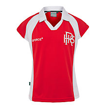 Buy Redland High School Girls' Hockey Shirt, Red/White Online at johnlewis.com
