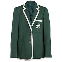 Buy Buckholme Towers School Girls' Blazer, Green Online at johnlewis.com