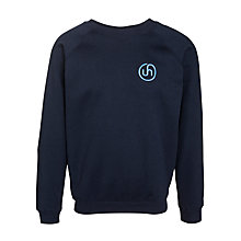 Buy Upton House School Sweatshirt, Navy Online at johnlewis.com