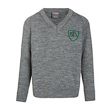 Buy Buckholme Towers School Boys' V-Neck Jumper Online at johnlewis.com