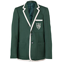Buy Buckholme Towers School Boys' Blazer, Green Online at johnlewis.com