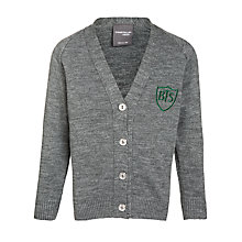 Buy Buckholme Towers School Girls' Cardigan, Grey Online at johnlewis.com
