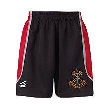 Buy St Peter & St Paul School Sports Shorts, Black/Multi Online at johnlewis.com