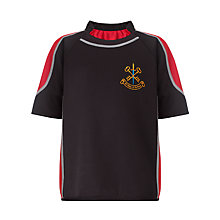 Buy St Peter & St Paul School Boys' Rugby Shirt, Black/Multi Online at johnlewis.com