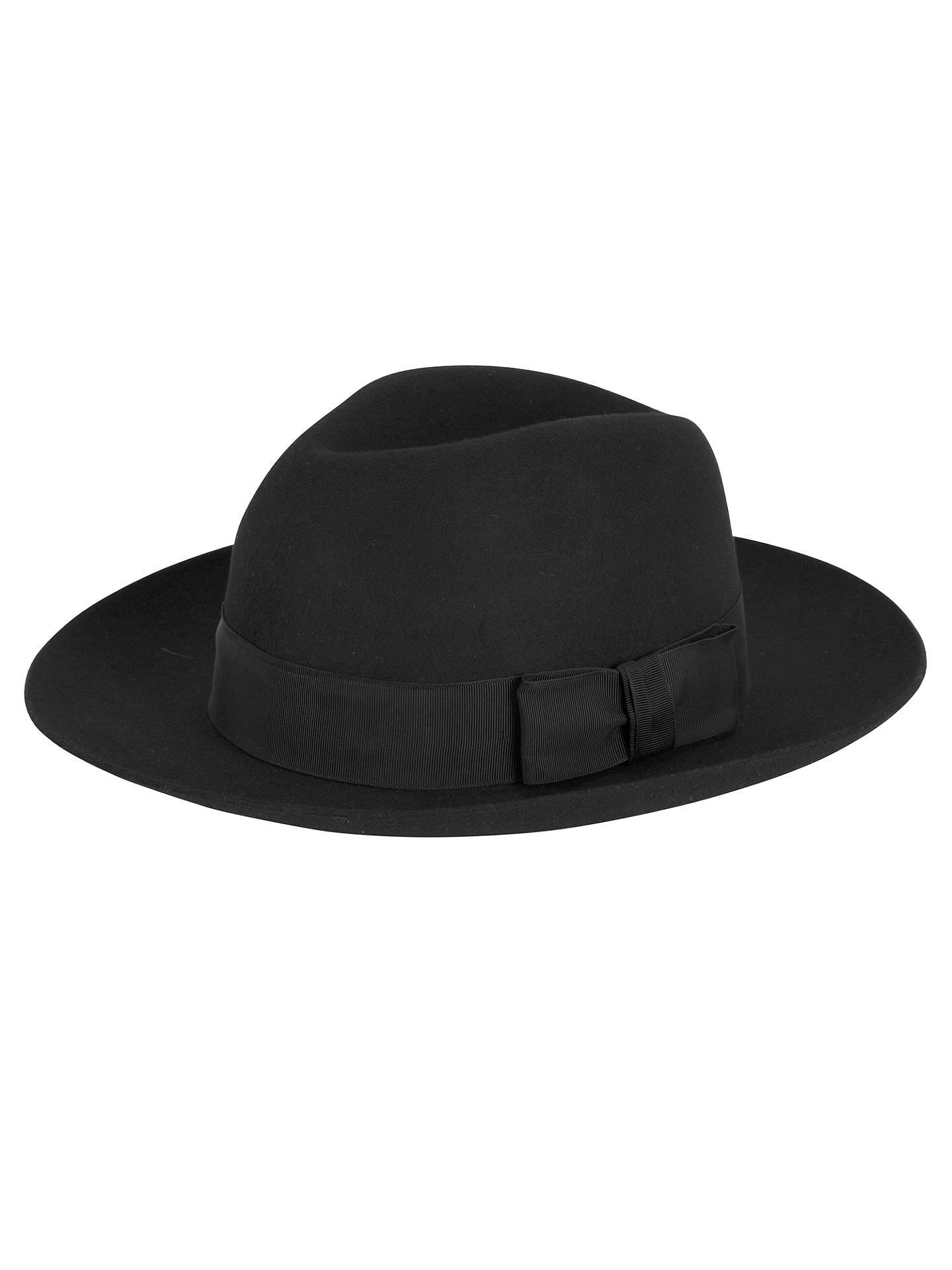 e41e30d56 Christys' Grosvenor Wide Brim Wool Fedora Hat at John Lewis & Partners
