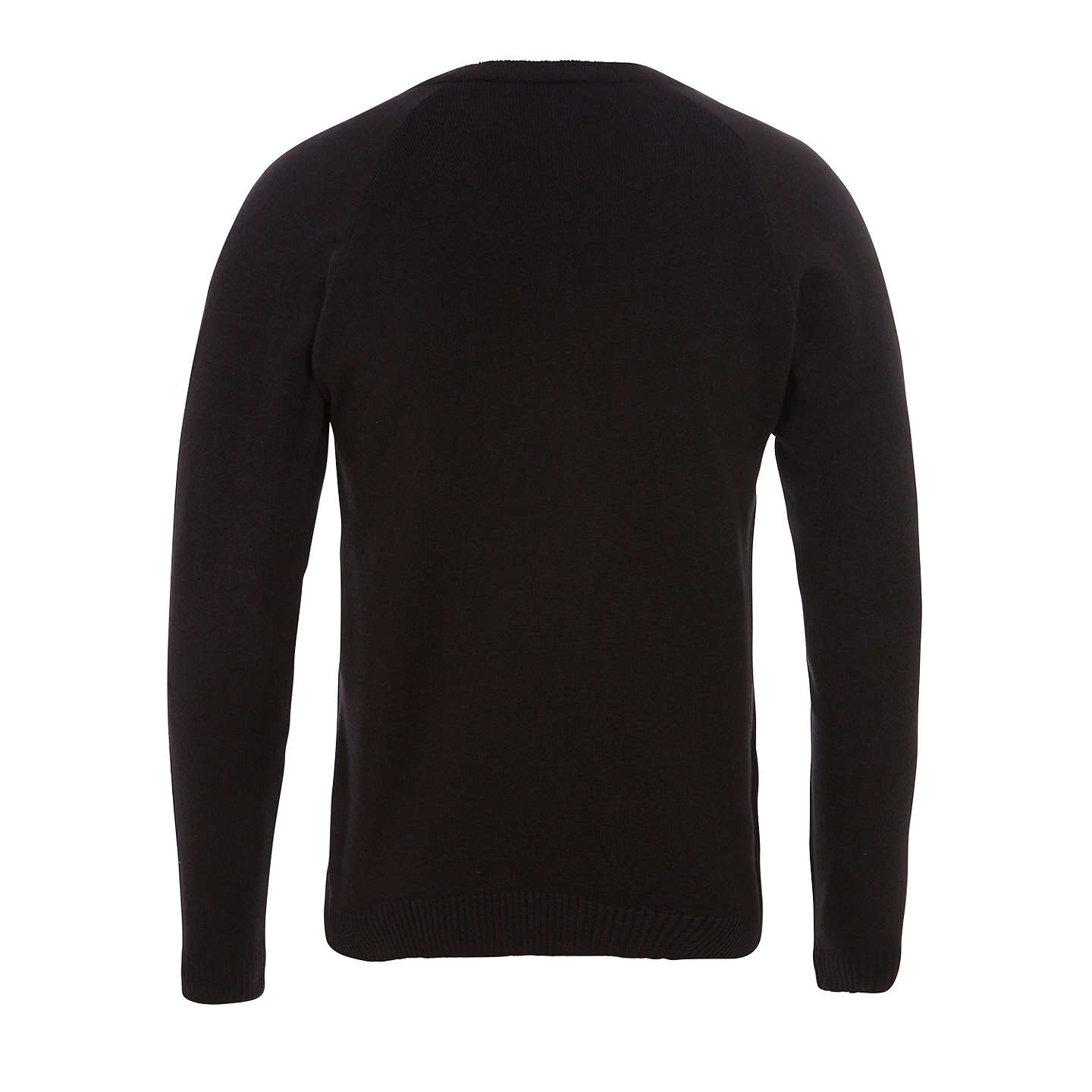 BuyHoly Family Catholic School and Sixth Form V-Neck Jumper, Black, Chest 30'' Online at johnlewis.com