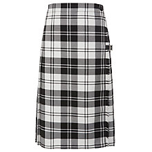 Buy Holy Family Catholic School and Sixth Form Kilt, Black/White Online at johnlewis.com