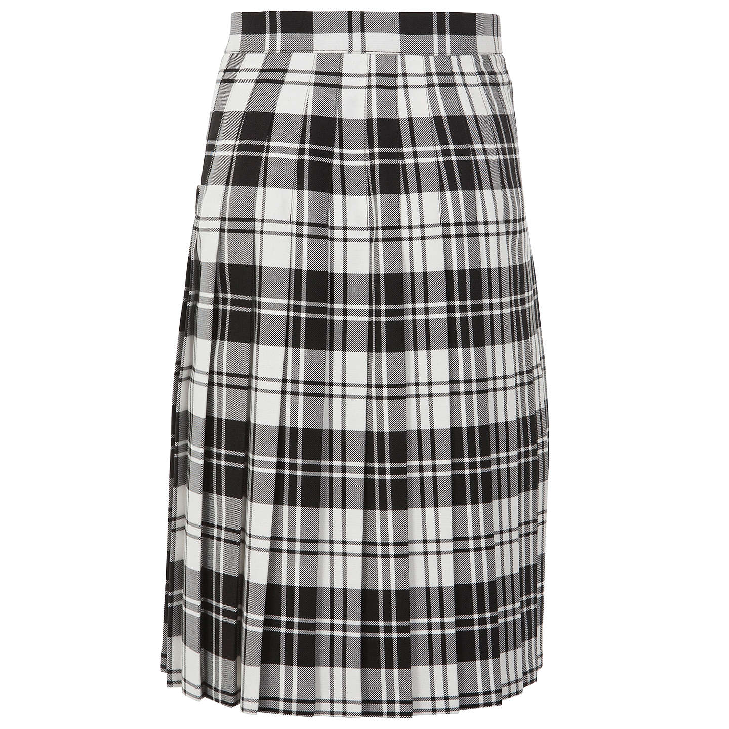 "BuyHoly Family Catholic School and Sixth Form Kilt, Black/White, Waist 22"", Length 22"" Online at johnlewis.com"