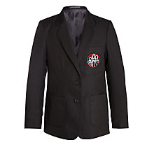 Buy Holy Family Catholic School and Sixth Form Girls' Blazer, Black Online at johnlewis.com