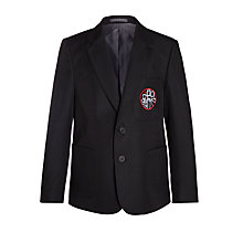 Buy Holy Family Catholic School and Sixth Form Boys' Blazer, Black Online at johnlewis.com