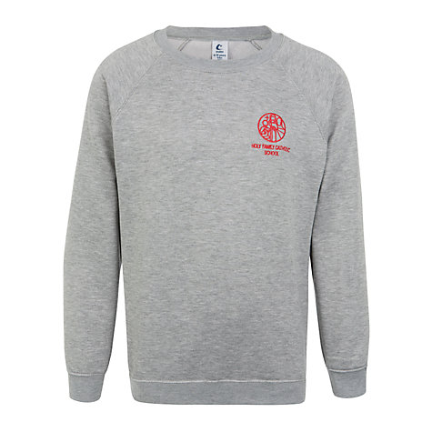 Buy Holy Family Catholic School and Sixth Form Jumper, Grey Online at johnlewis.com