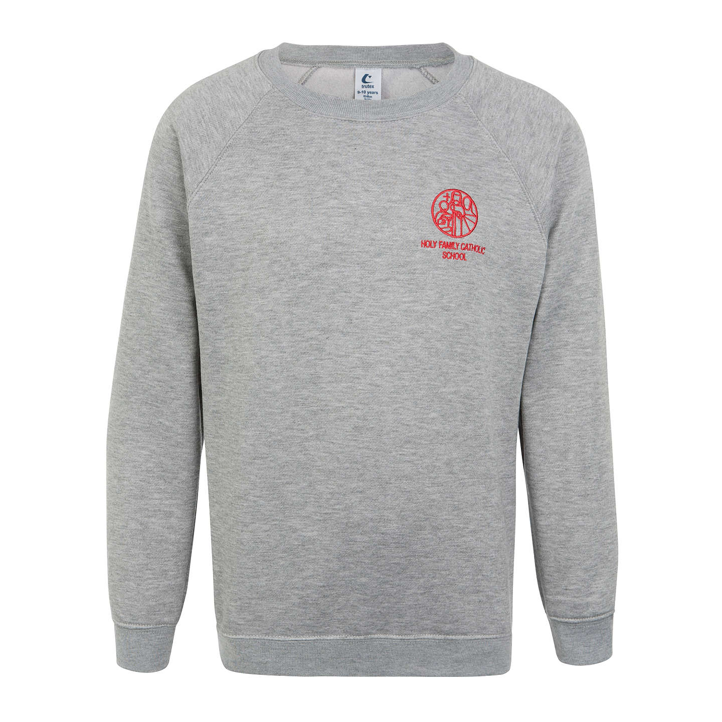 BuyHoly Family Catholic School and Sixth Form Jumper, Grey, XXS Online at johnlewis.com