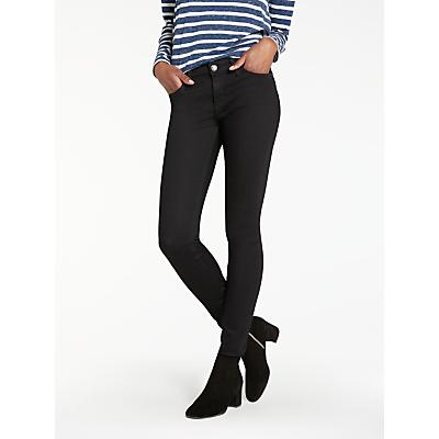 Lee Scarlett Regular Waist Skinny Jeans, Black