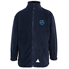 Buy Upton House School Fleece Jacket, Navy Online at johnlewis.com