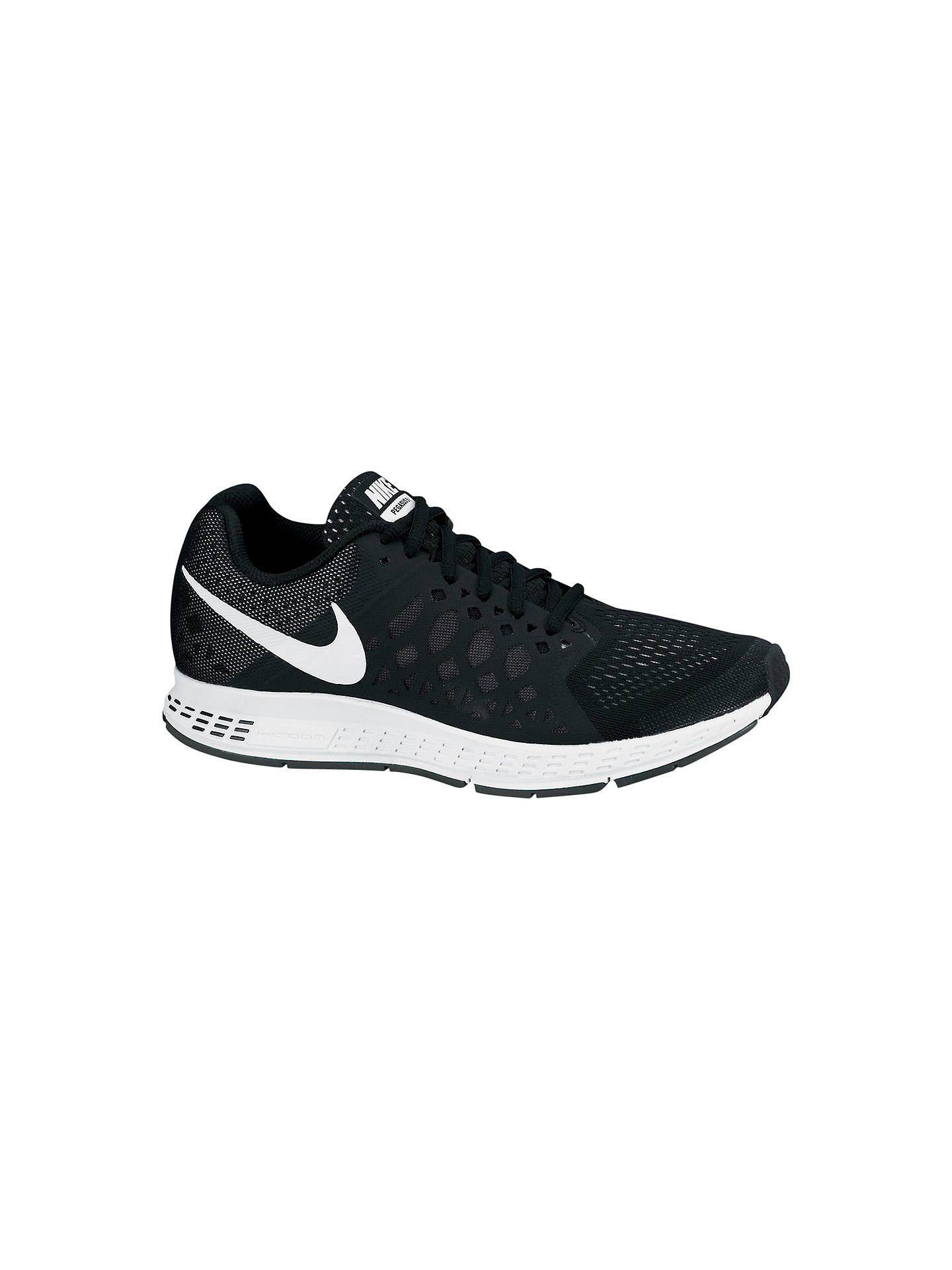 BuyNike Air Zoom Pegasus 31 Womens Running Shoes, BlackWhite, 4 Online at  ...