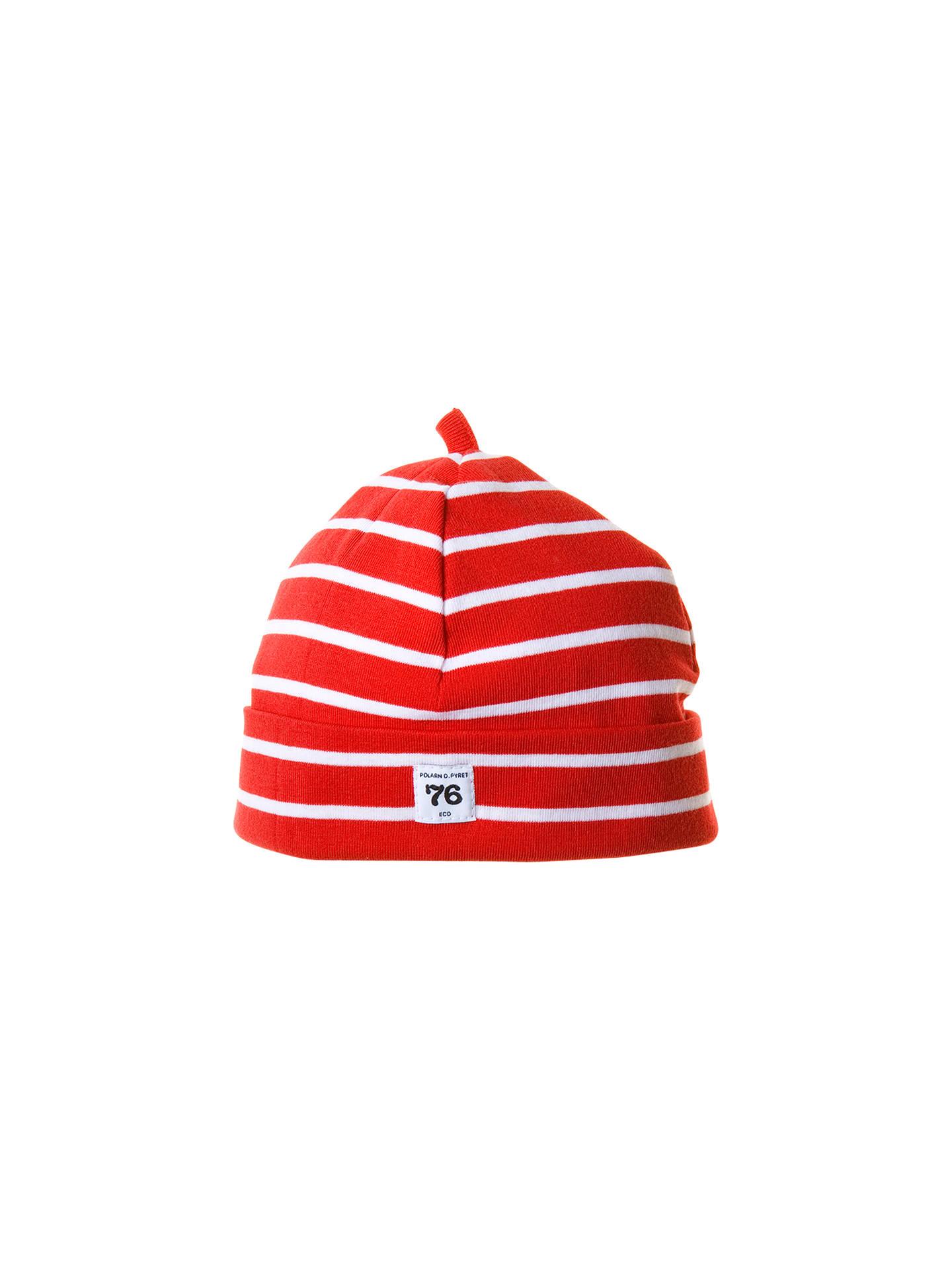 Polarn O. Pyret Stripe Beanie Hat at John Lewis   Partners 9dc3fa1409e