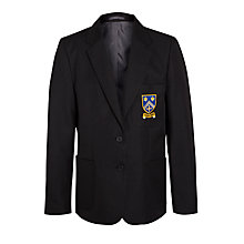 Buy Bishop Challoner Catholic College Girls' Blazer, Black Online at johnlewis.com