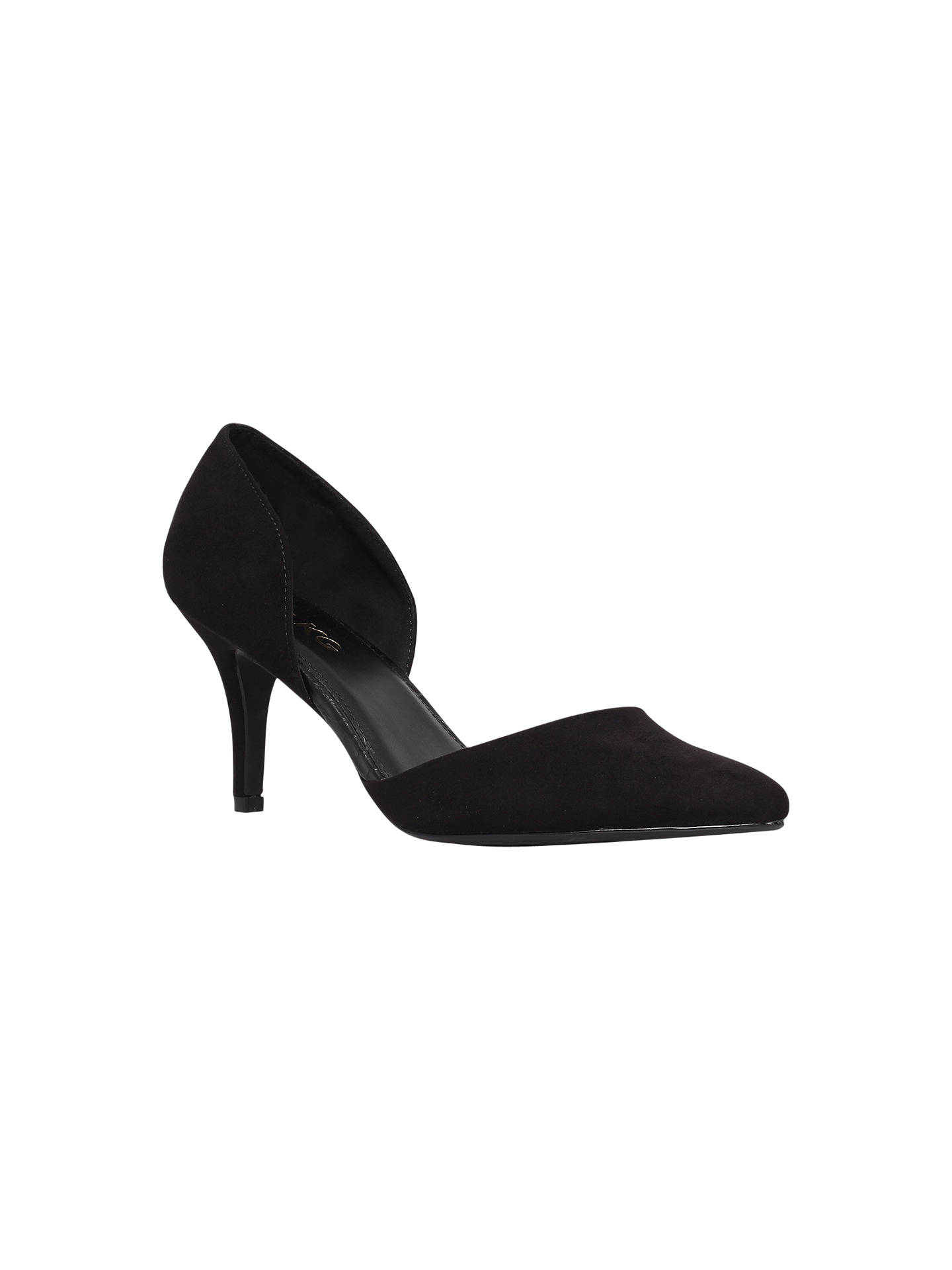 Buy Miss KG Celina Court Shoes, Jet Black, 3 Online at johnlewis.com