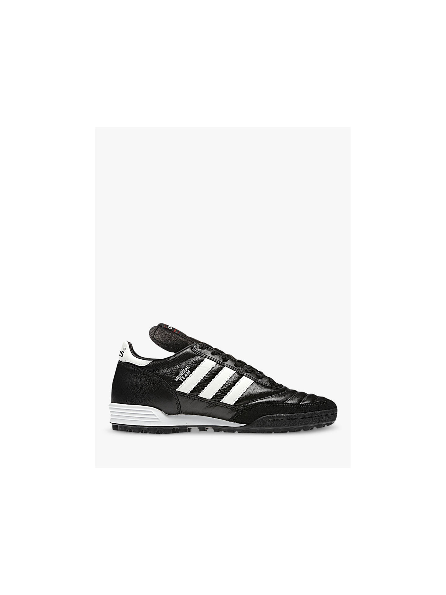 Buy adidas Mundial Team Men's Football Boots, Black/White, 7 Online at johnlewis.com
