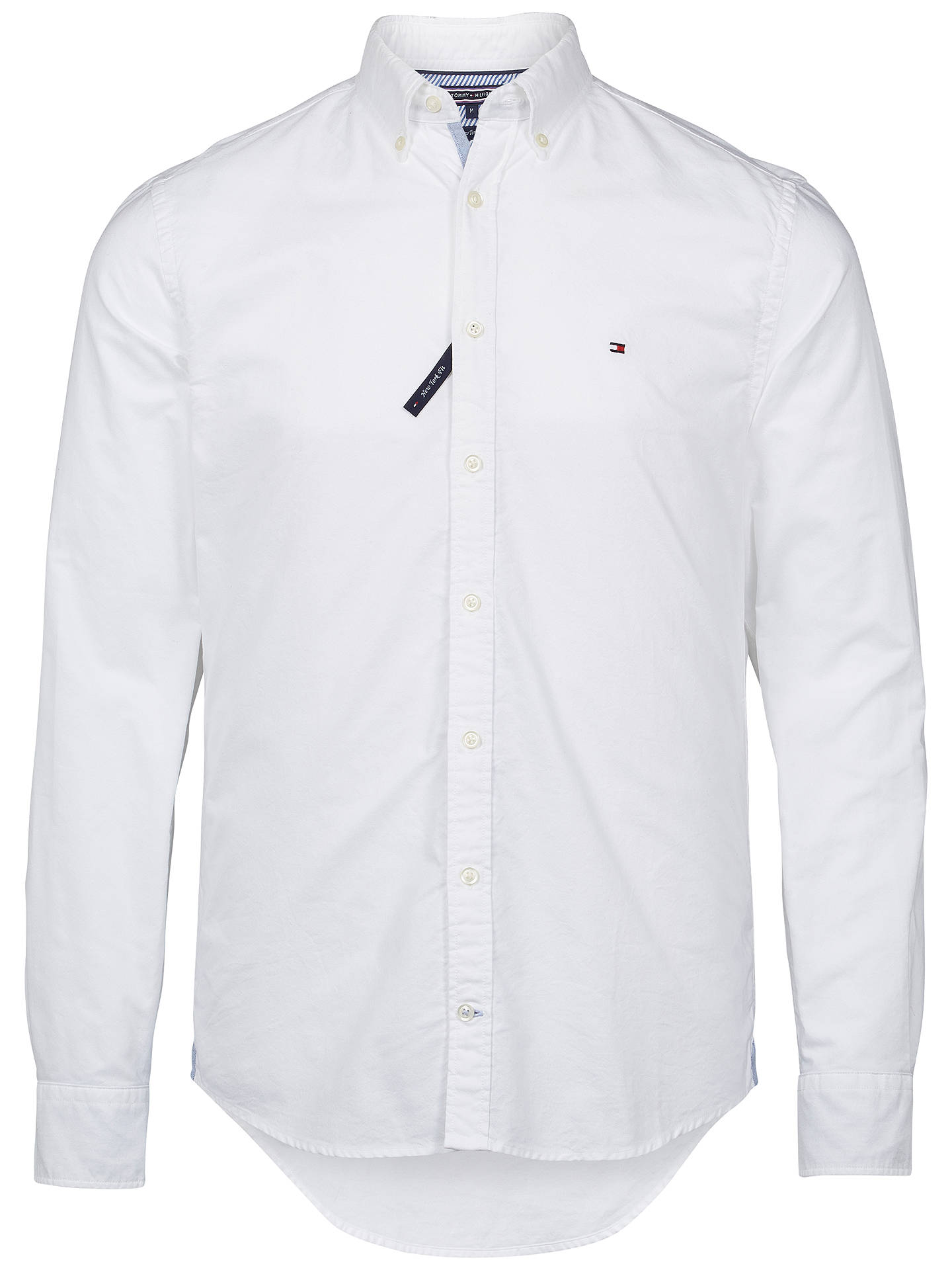 dd94f995 Buy Tommy Hilfiger Ivy Oxford Shirt, White, M Online at johnlewis.com ...