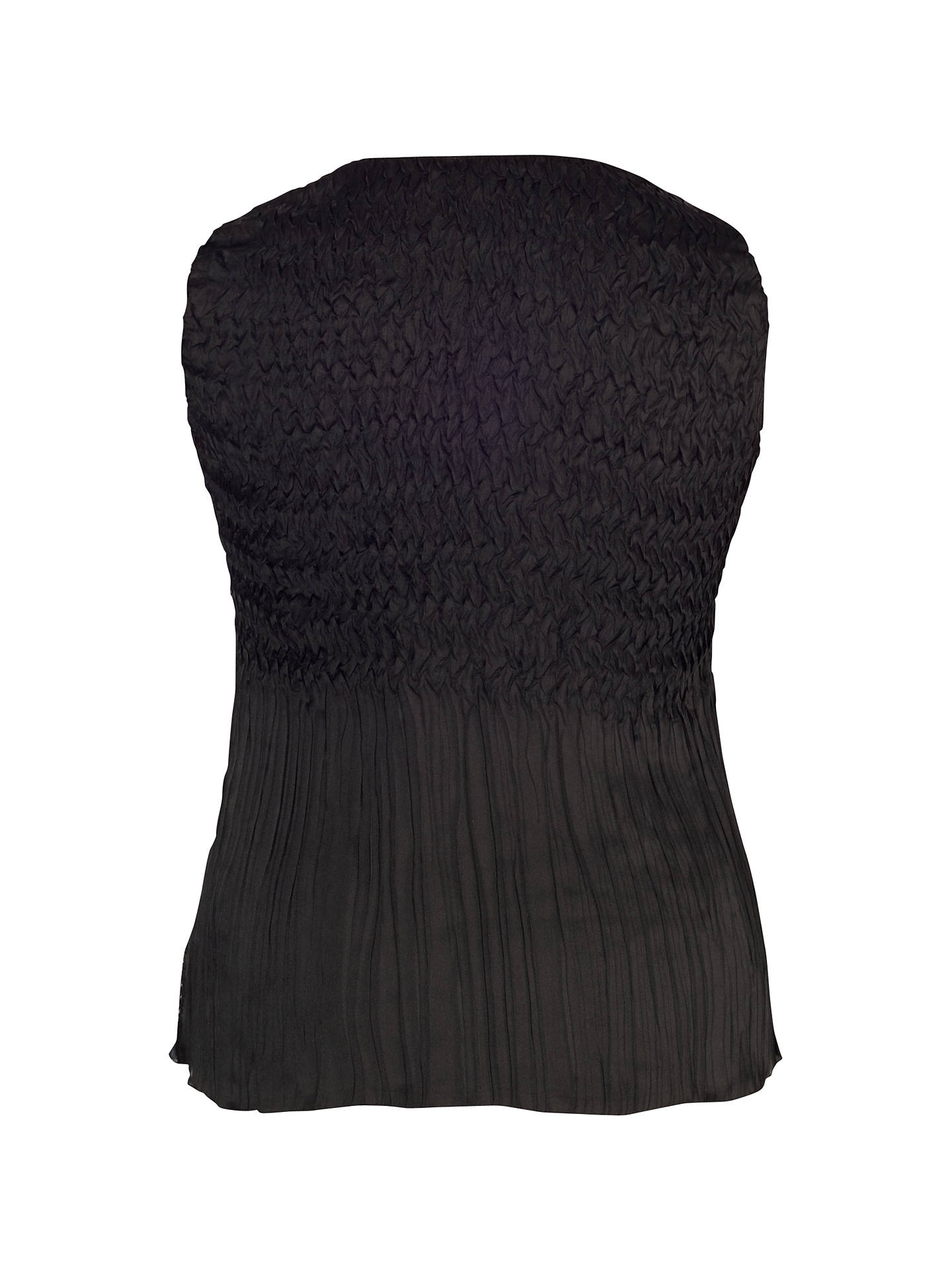 Buy Chesca Patchwork Printed Camisole, Black/Ivory, 12-14 Online at johnlewis.com