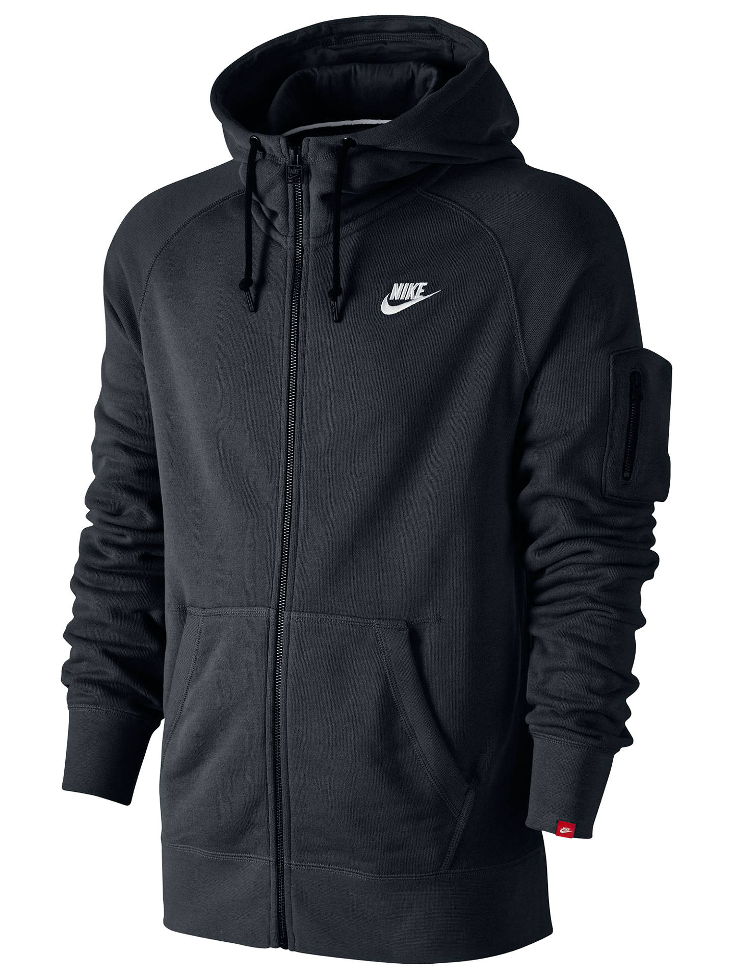 stable quality cheap sale new list Nike AW77 Fleece Full Zip Training Hoodie at John Lewis ...