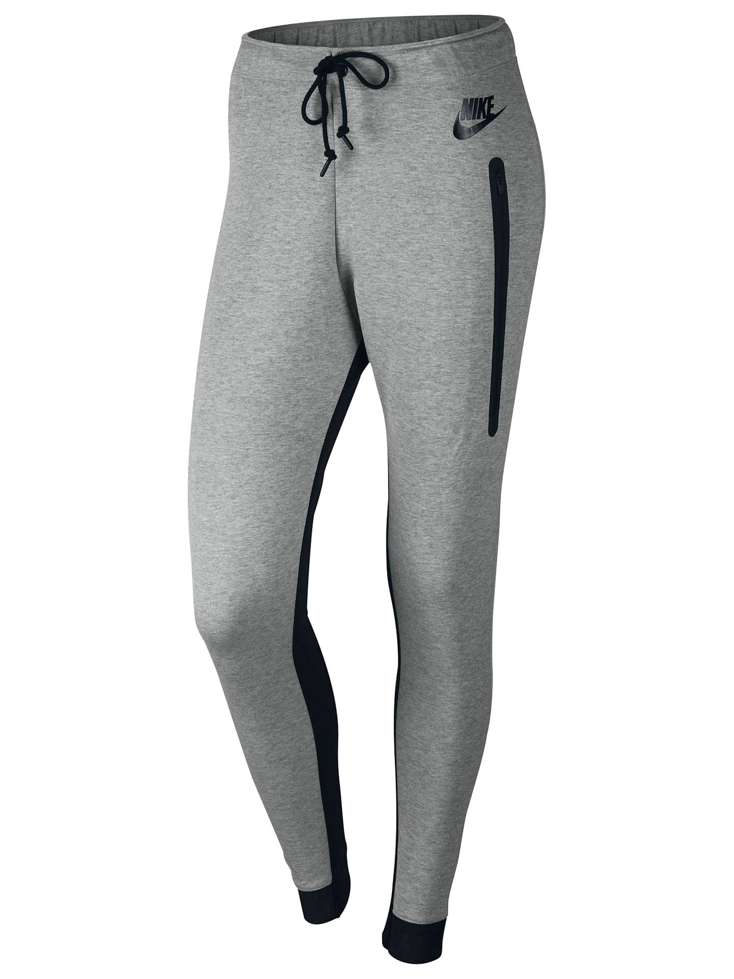 Nike Women S Tech Fleece Training Trousers Grey At John Lewis Partners