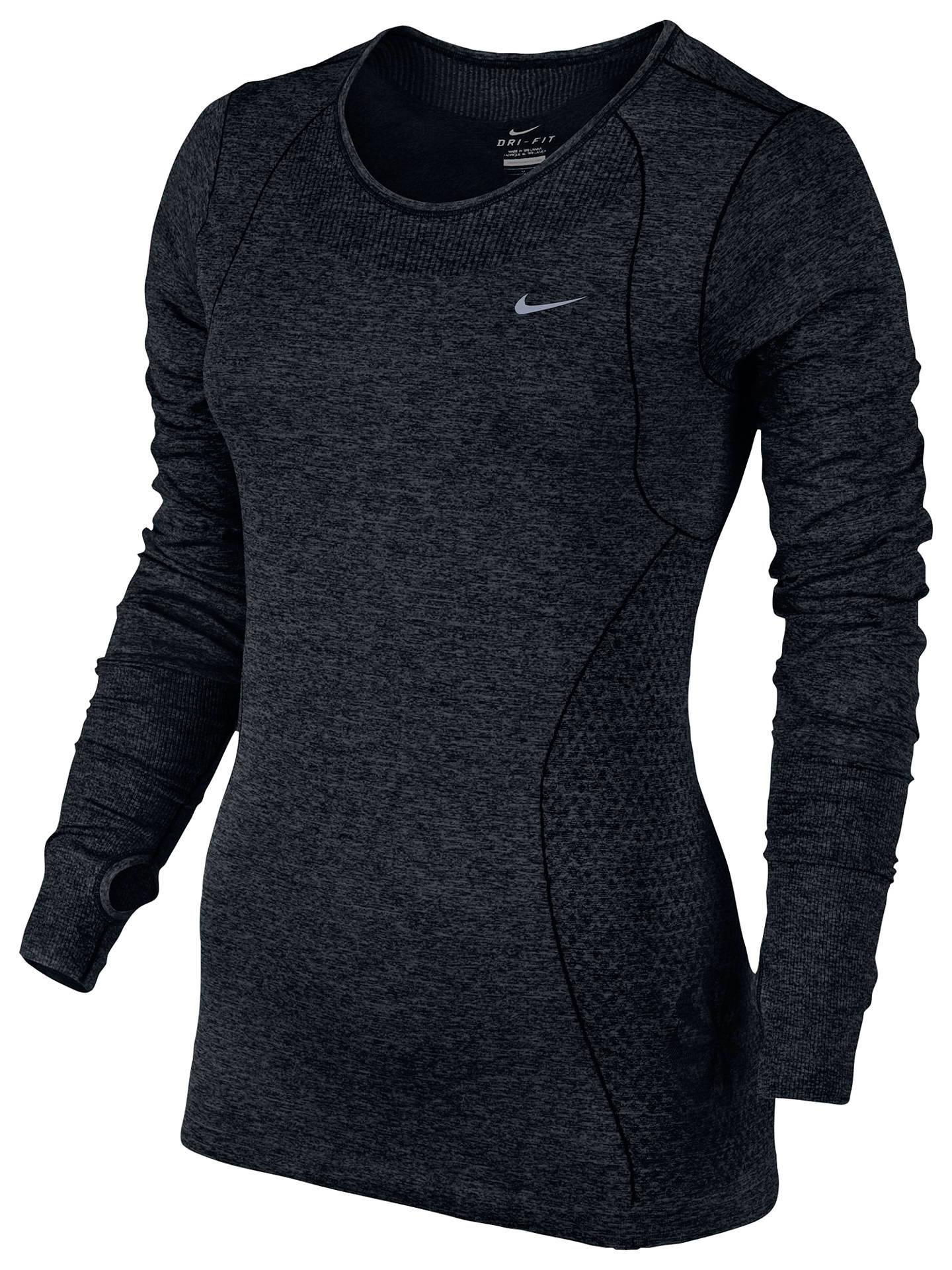 5afe3445ce45 Buy Nike Dri-FIT Knit Long Sleeve Running Shirt