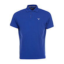 Buy Barbour Tartan Pique Polo Shirt Online at johnlewis.com