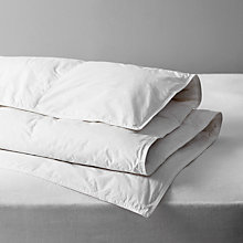Buy John Lewis Natural White Goose Down Duvet, 4.5 Tog Online at johnlewis.com