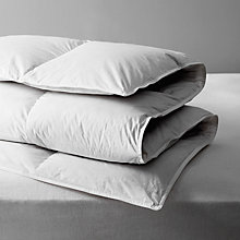 Buy John Lewis Natural White Goose Down Duvet, 13.5 Tog Online at johnlewis.com