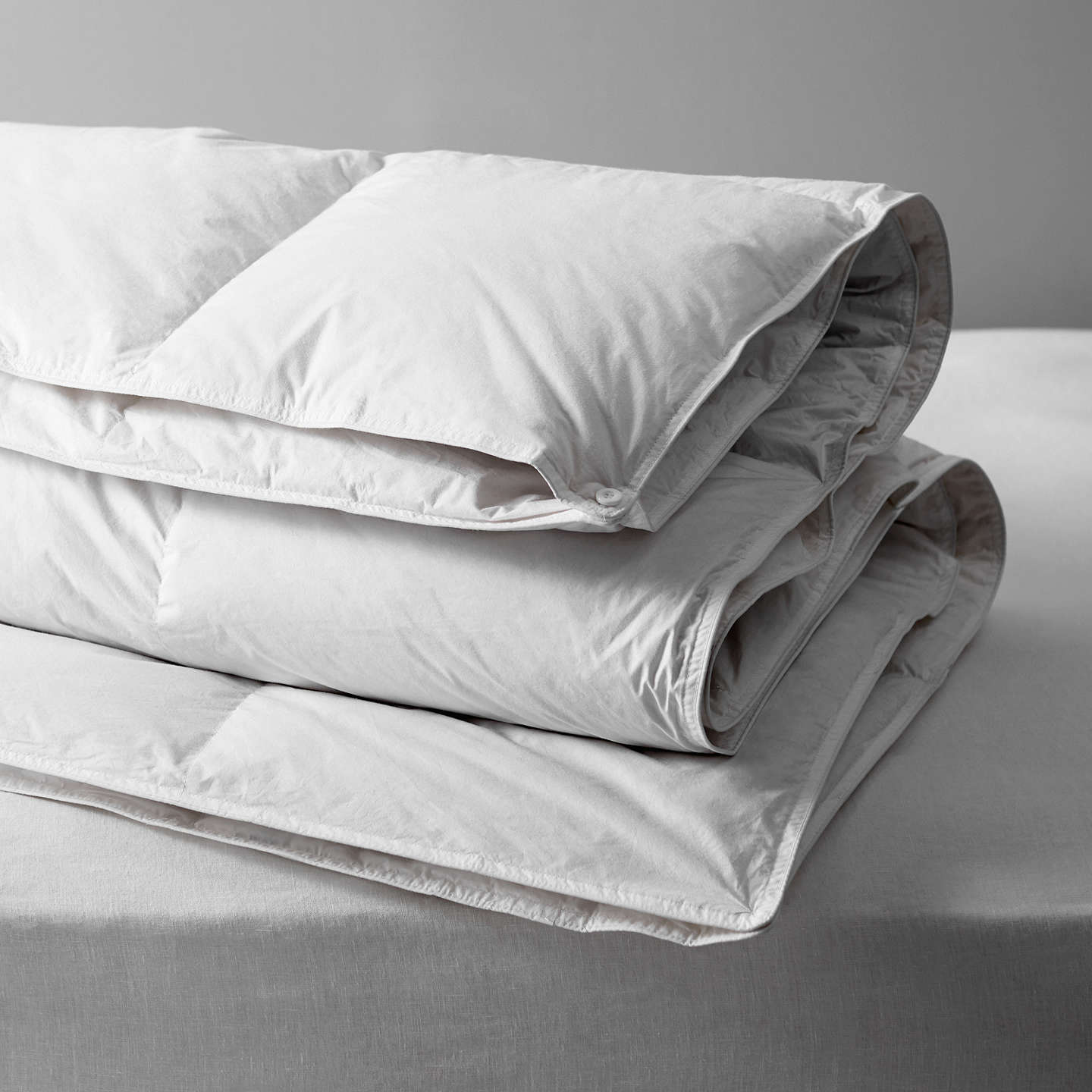 John Lewis Natural White Goose Down Duvet 13 5 Tog 4 9