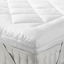 buy john lewis soft touch washable mattress topper online at