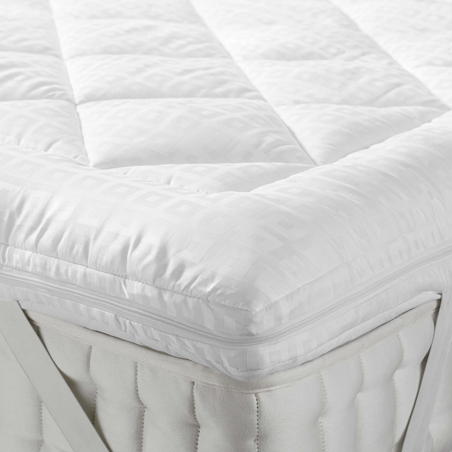 mattress topper. BuyJohn Lewis Synthetic Soft Touch Washable Mattress Topper, Double Online At Johnlewis.com Topper R