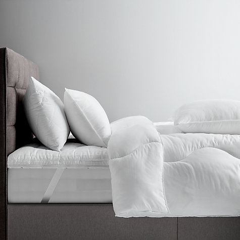 Buy John Lewis Synthetic Soft Touch Washable Mattress Topper Online at johnlewis.com