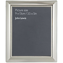 Buy John Lewis Eclipse Photo Frame, Silver Online at johnlewis.com