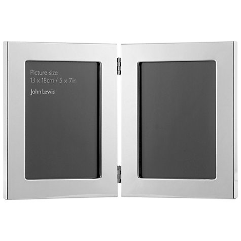 buy john lewis double photo frame online at johnlewiscom - Double Picture Frame