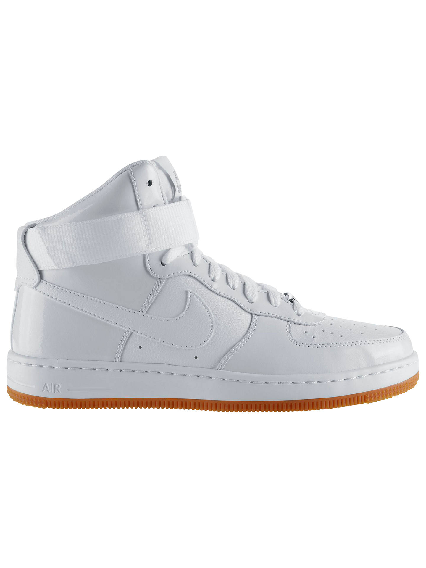 new arrivals 93d7b a1738 BuyNike Air Force One Women s Cross Trainers, White, 3 Online at johnlewis.  ...