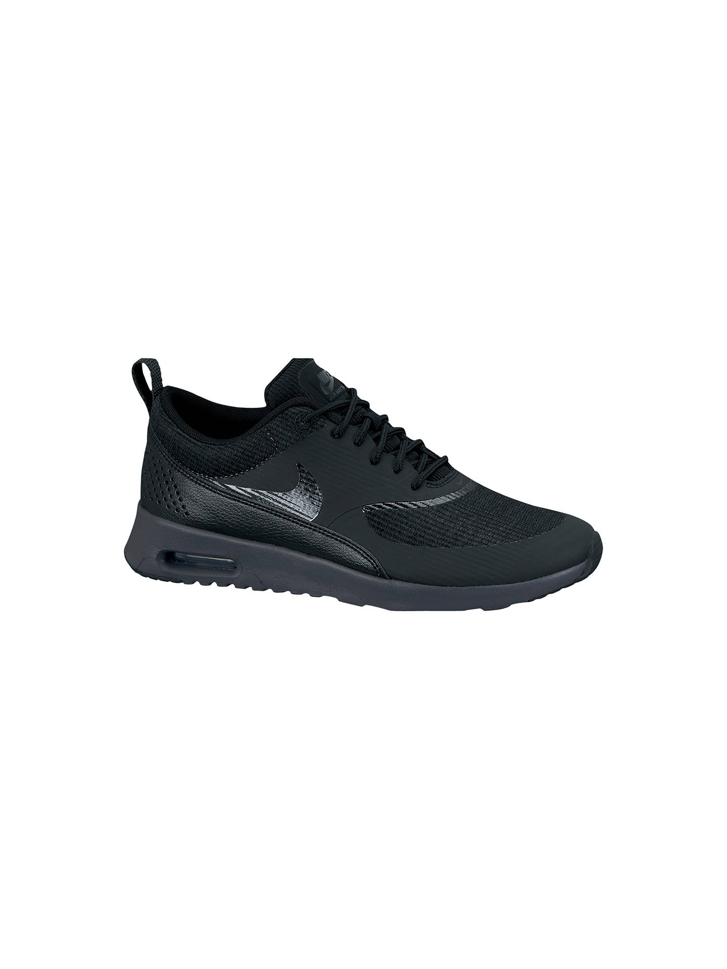 pretty nice c2b11 01a1e Buy Nike Women s Air Max Thea Premium Cross Trainers, Black, 3 Online at  johnlewis