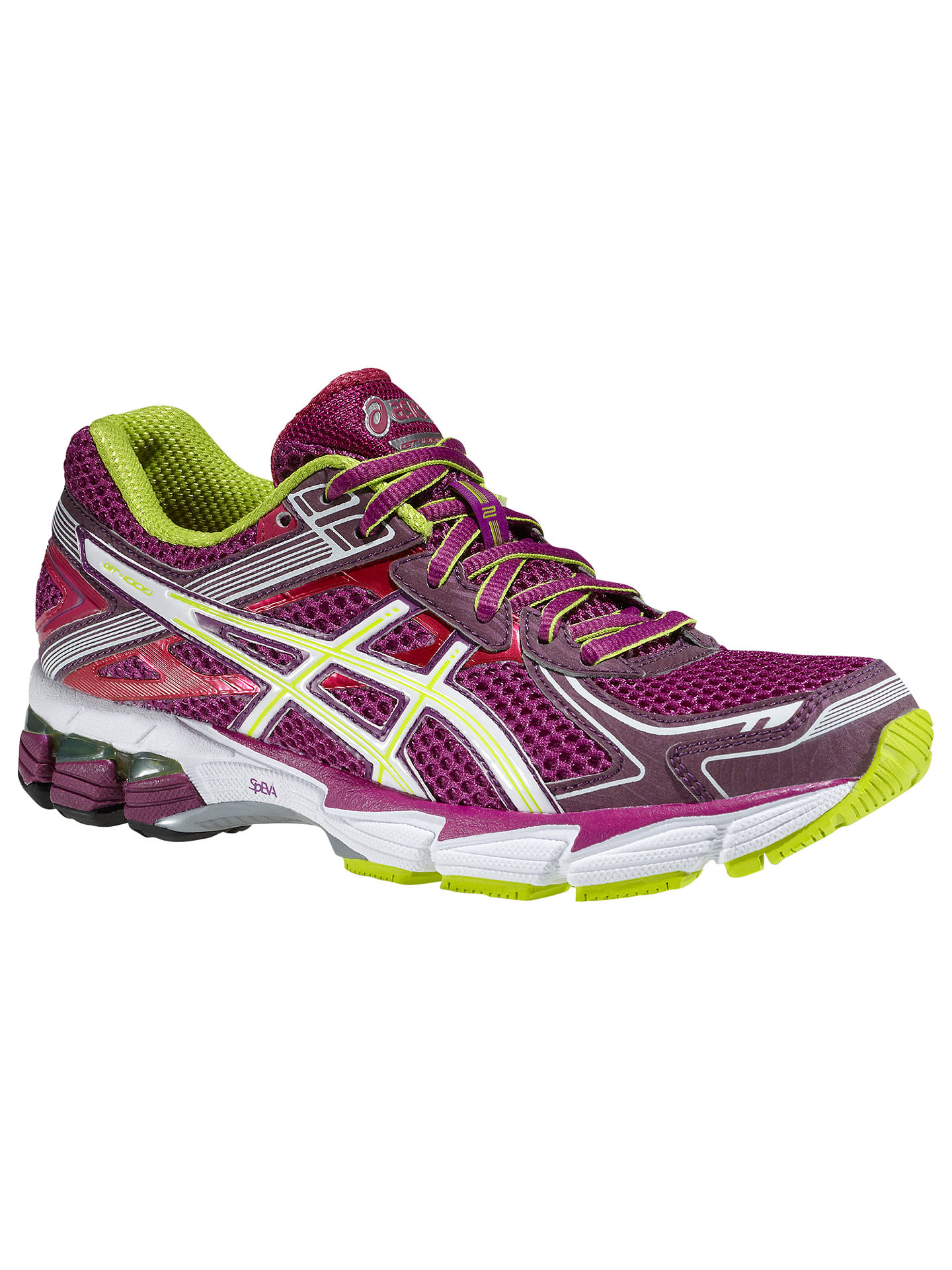 asics women trainers purple