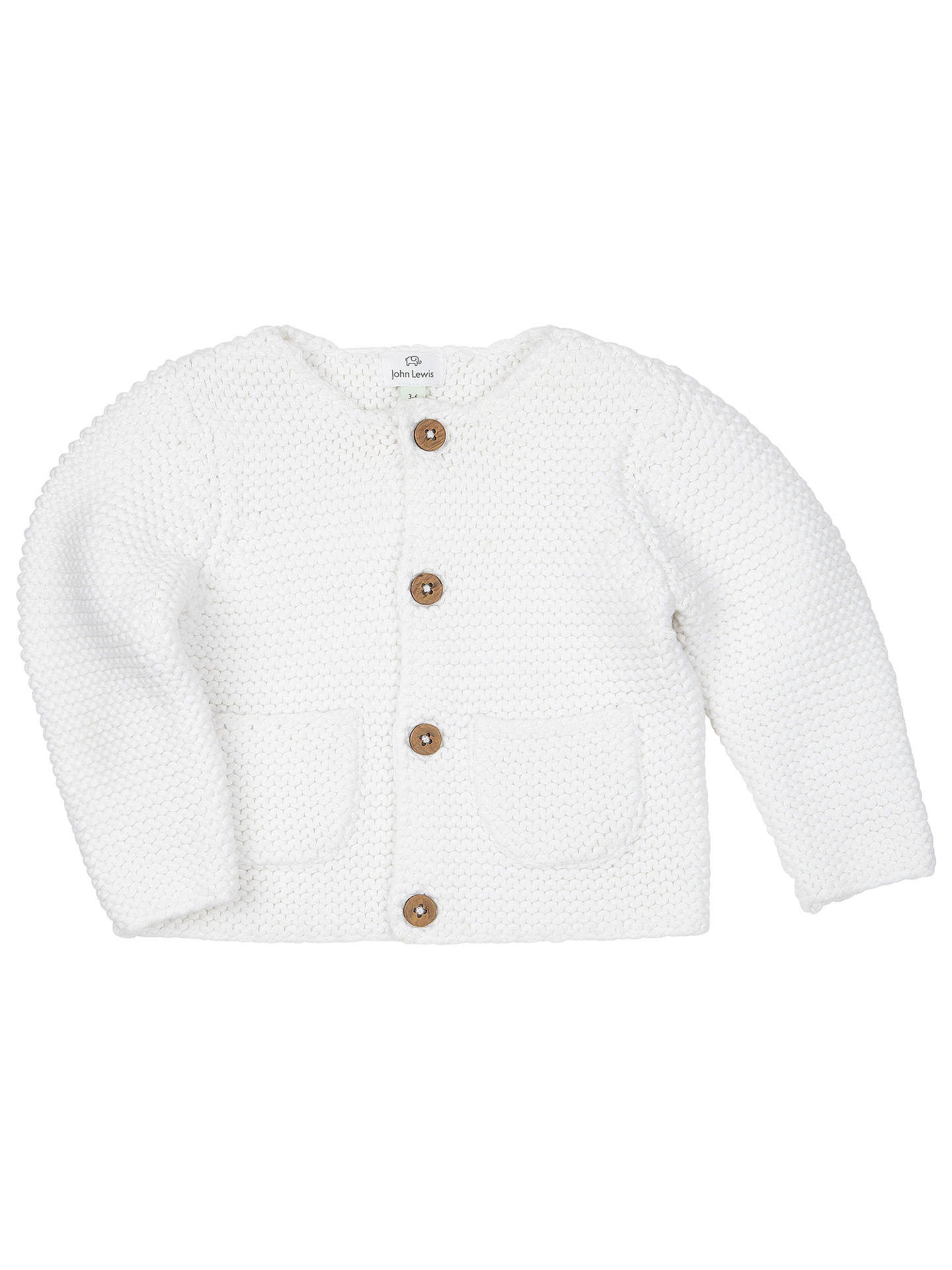 846f19d3f John Lewis   Partners Baby s Chunky Knit Cardigan