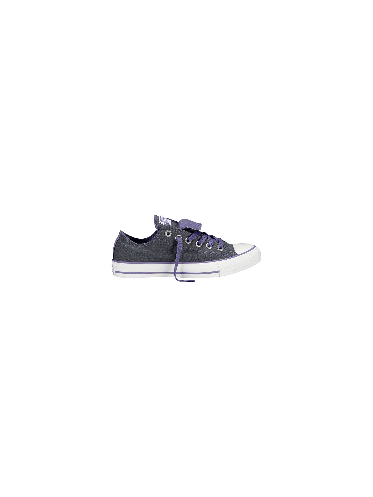 9fbbf79f360b Converse Chuck Taylor All Star Ox Double Tongue Trainers at John ...