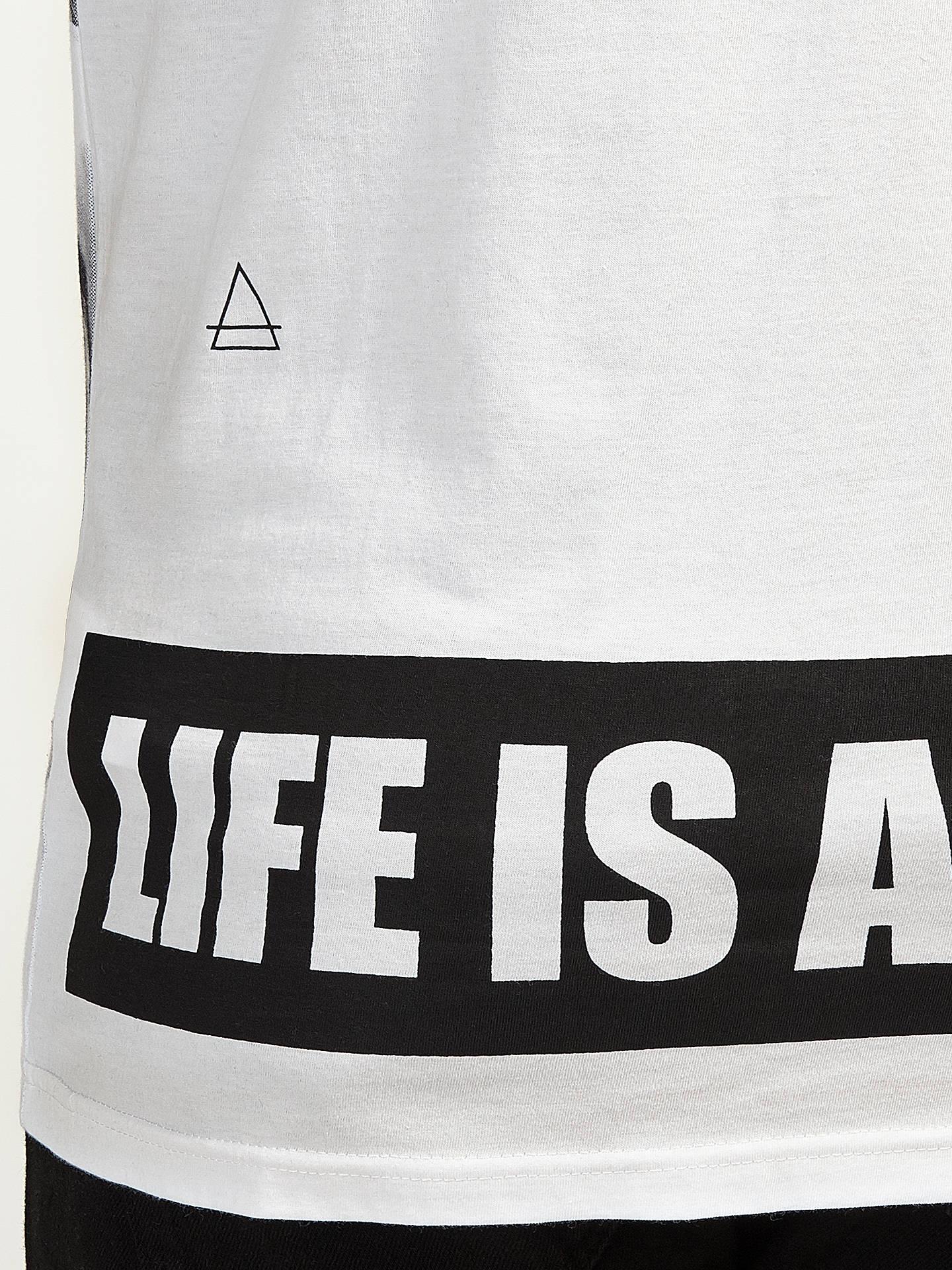 c90553c82 ... Buy Eleven Paris Kate Moss Moustache T-Shirt, White, S Online at  johnlewis