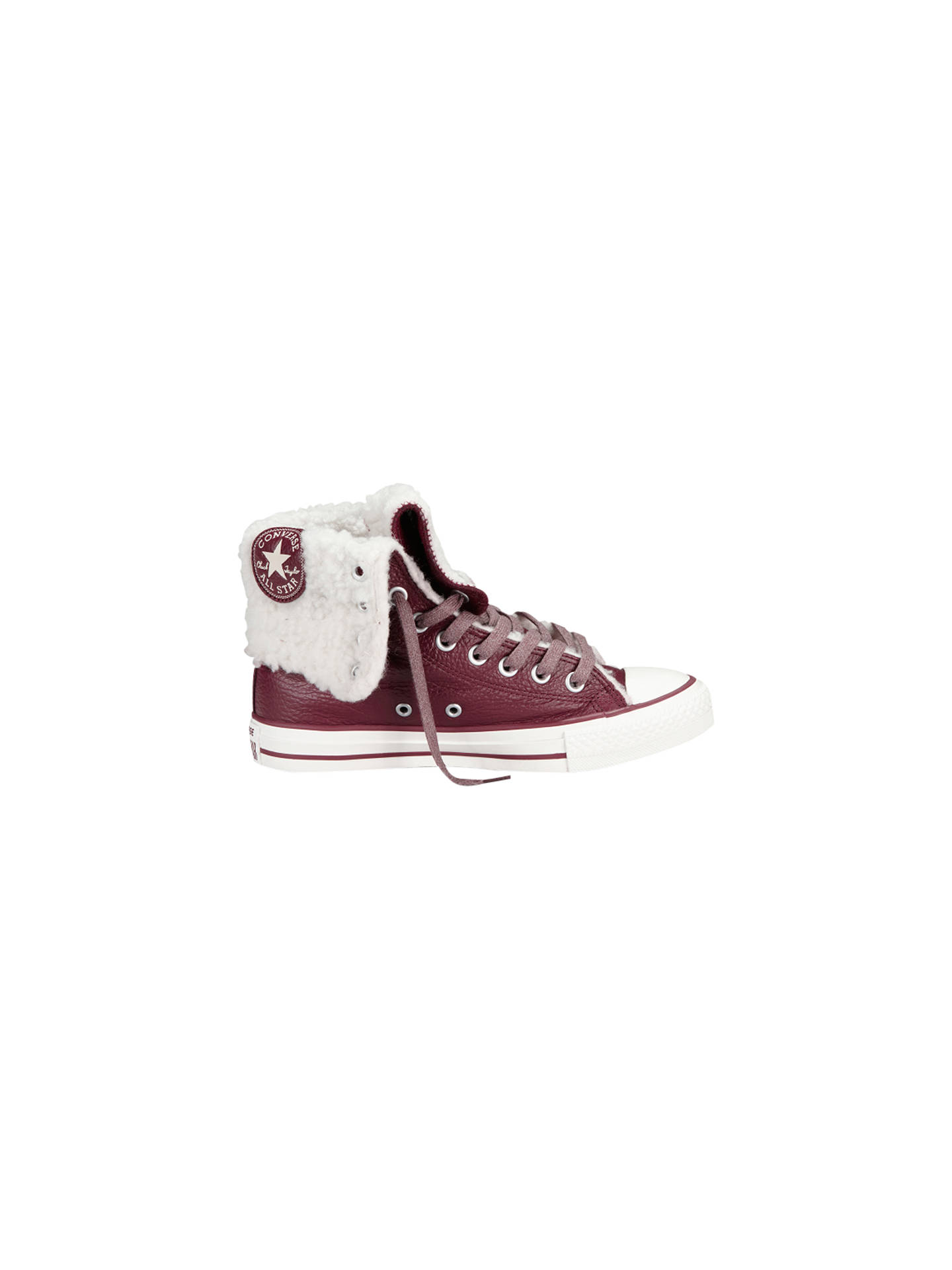 c2a6d08b24c1fb Converse Chuck Taylor All Stars Oxhearth Hi-Top Leather Trainers ...