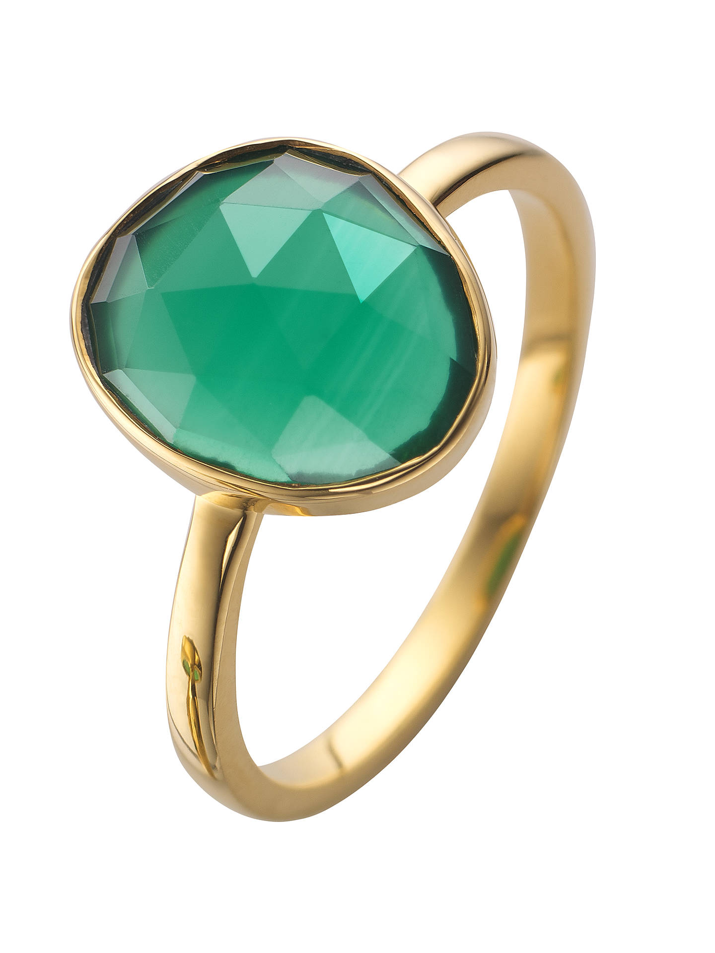 c6e897e44f950 John Lewis Gemstones Gold Plated Semi-Precious Stone Ring at John ...