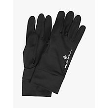 Buy Ronhill Classic Running Gloves, Black Online at johnlewis.com