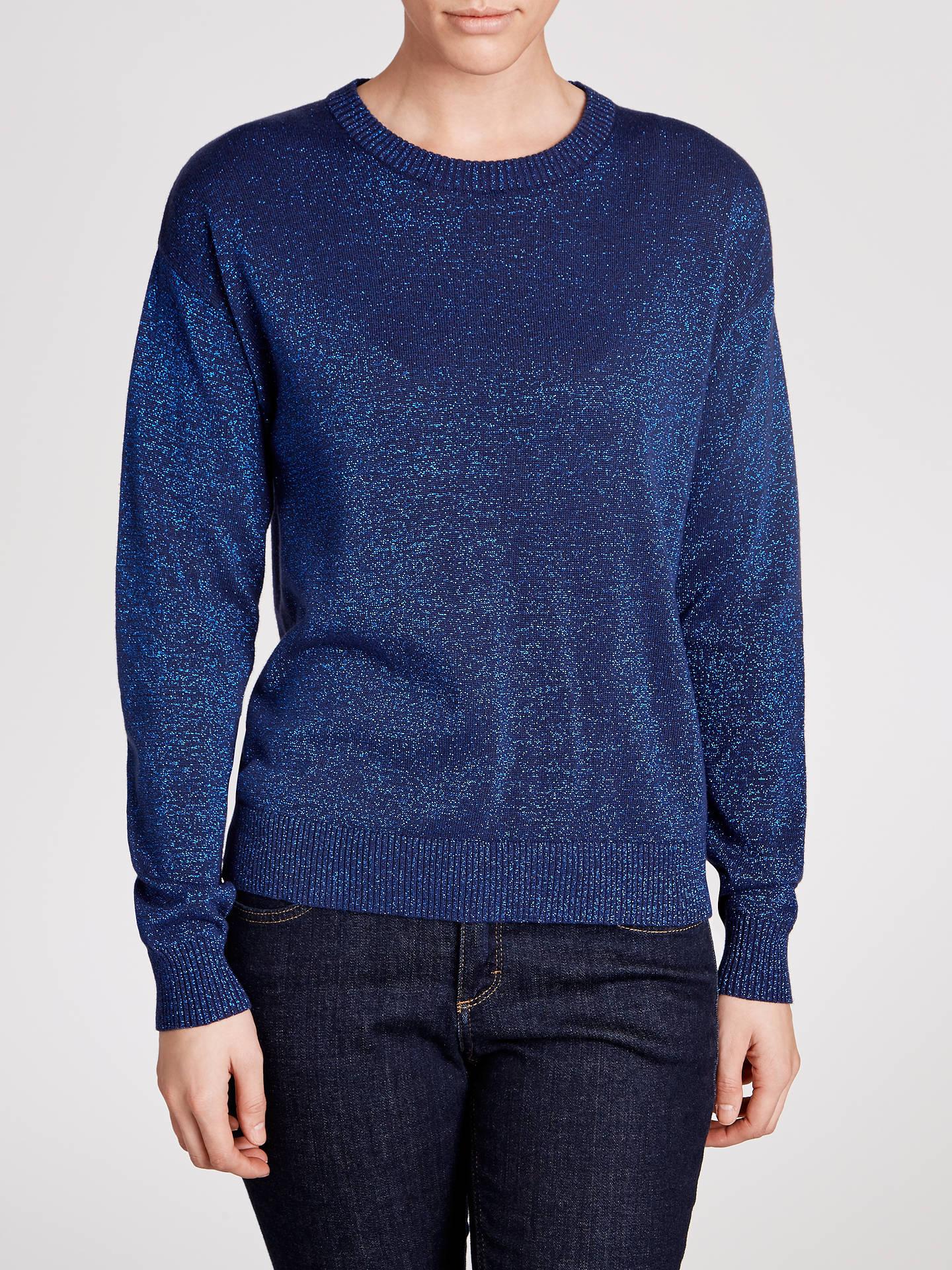 3aed9824f1b04 Buy Minimum Adona Lurex Crew Knitted Jumper