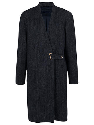 Buy French Connection City Denim Coat, Blue, 6 Online at johnlewis.com