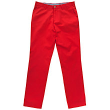 Buy Thomas Pink Voltaire Chinos, Red Online at johnlewis.com